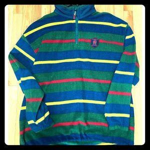 Tommy Hilfiger Striped Fleece Pullover